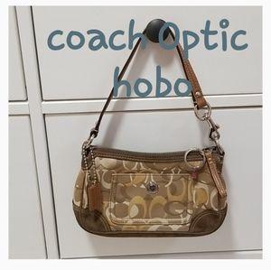 ❣ Coach ❣Chelsea Optic C Demi hobo mini handbag